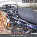 Luggage rack system for Honda CB500S 1998-2002