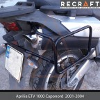 Side carrier luggage mount for Aprilia ETV1000 Caponord 2001-2008
