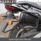 Side carrier luggage mount for Aprilia Pegasso 650ie 2001-2004