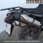 Side carrier luggage mount for Yamaha XT660X 2004-2014