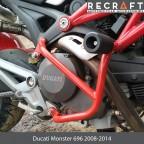 Crash bars for Ducati Monster 696 2008-2014
