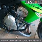 Crash bars for Kawasaki KLE650 Versys 2007-2014