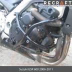 Crash bars with sliders Suzuki GSR600 2006-2010