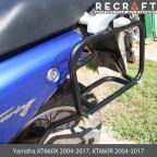 Luggage rack system for Yamaha XT660X 2004-2014
