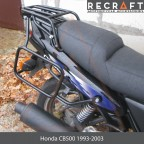 Luggage rack system for Honda CB500 1994-2002