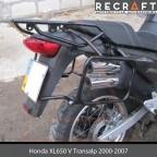 Luggage rack system for Honda XL650V Transalp 2000-2006