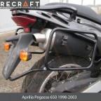 Side carrier luggage mount for Aprilia Pegasso 650 1997-2001