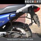 Side carrier luggage mount for Honda XL650V Transalp 2000-2006