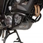 Bottom crash bars for Yamaha XT660Z Tenere 2008-2016