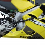 Crash bars with sliders for Honda CBR600F4 1999-2000